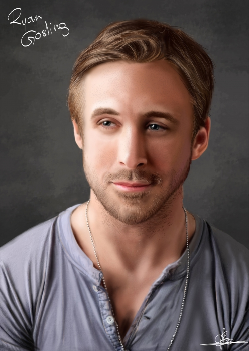 Ryan Gosling by Lilys